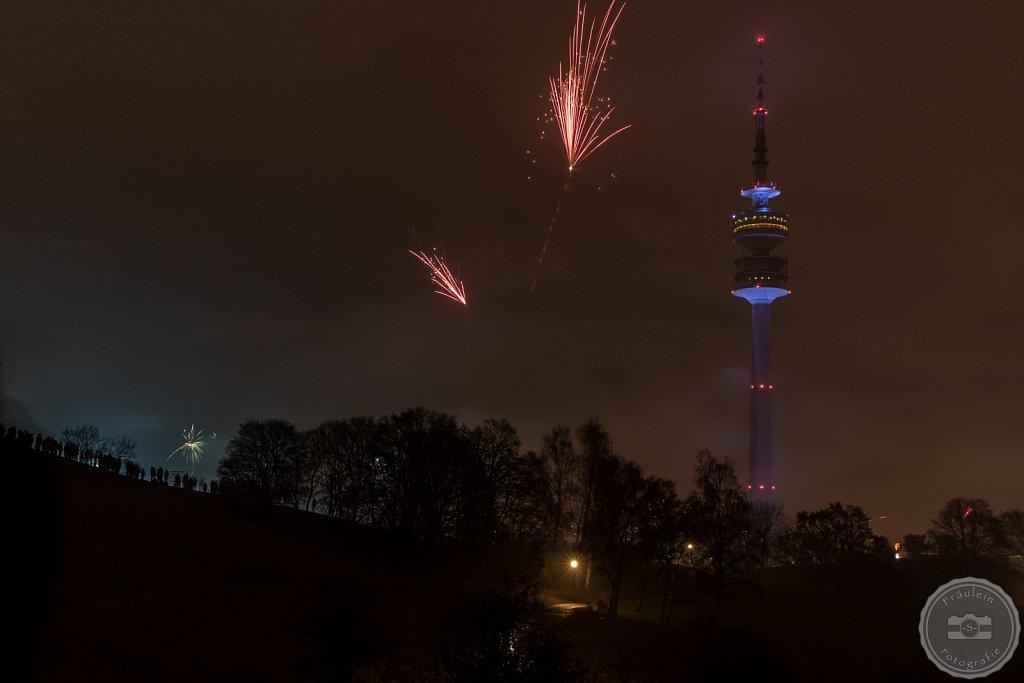Silvester 2015/2016-Olympiapark München
