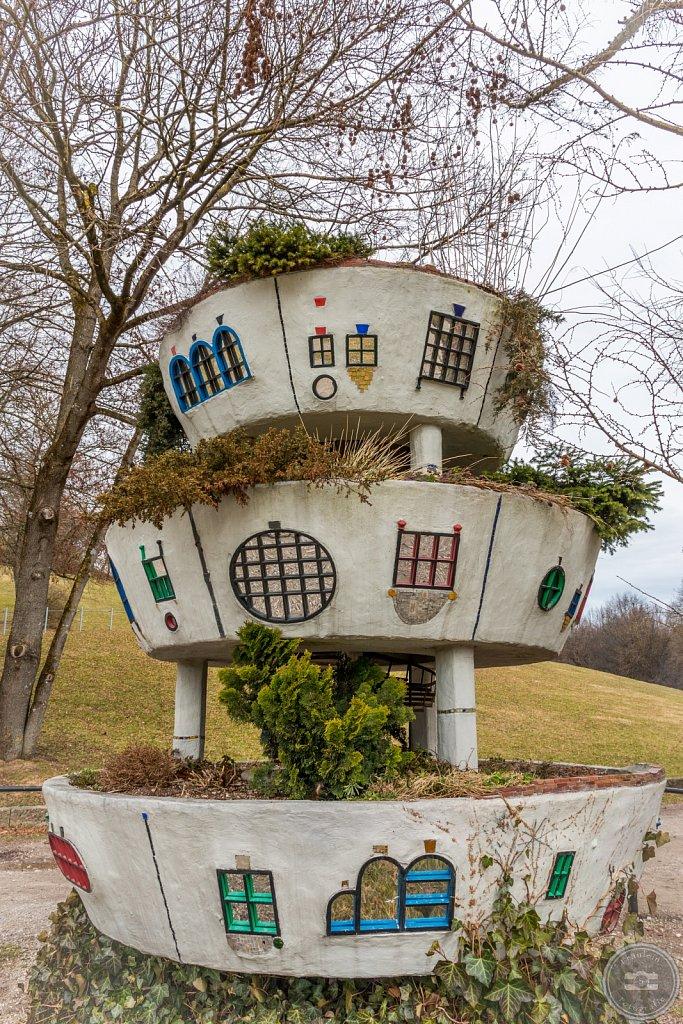 Hundertwasser Hoch-Wiesen-Haus I