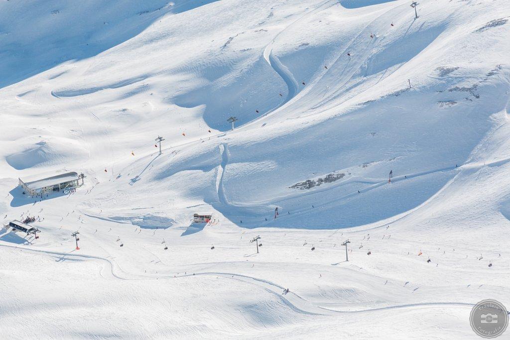 Blick von der Zugspitze II