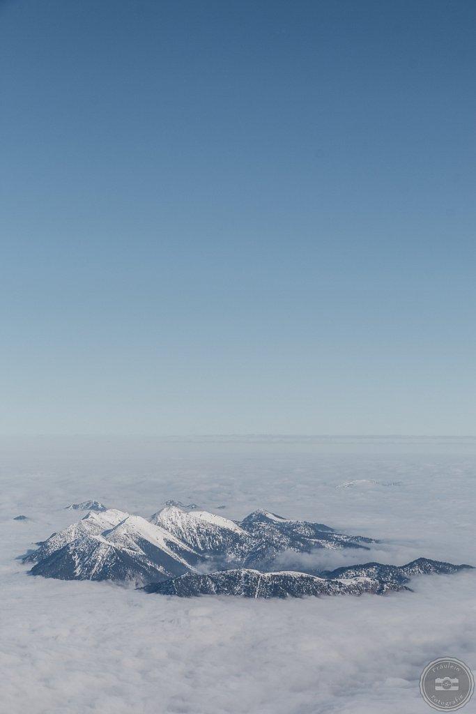 Blick von der Zugspitze III