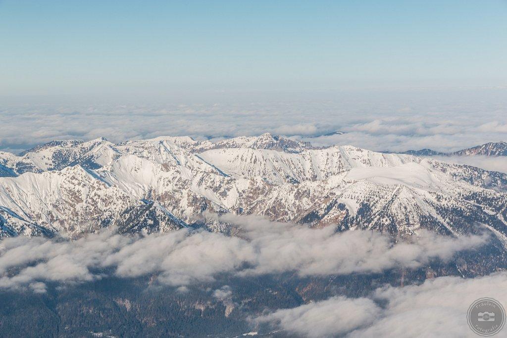 Blick von der Zugspitze IV